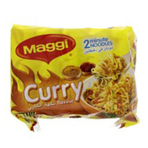 Maggi Curry Flavour 5X77GM