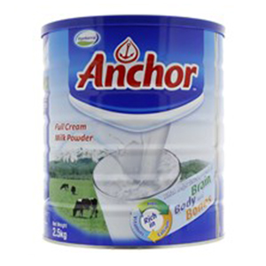 Anchor Milk Powder Tin 2.5 KG