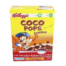 KELLOGG'S COCO POPS JUMBO 375 GM
