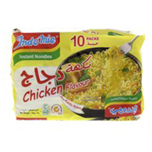 Indomi Curry Flavour 10x75GM